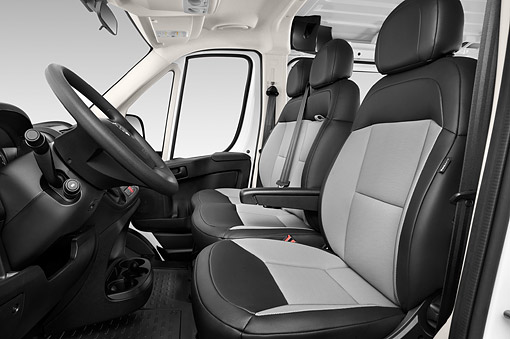 AUT 30 IZ3411 01 © Kimball Stock 2015 Ram Promaster Window Van 2500 159 WB High Roof 4-Door Interior Detail