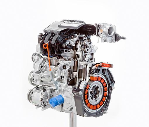 2010 Honda Insight Engine Detail Studio
