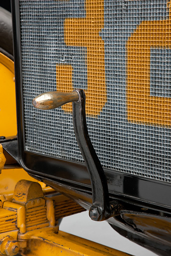 AUT 30 RK5390 01 © Kimball Stock 1911 Marmon Wasp Yellow Detail In Studio