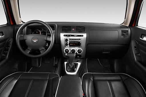 2010 Hummer H3 Alpha Interior Detail Studio | Kimballstock