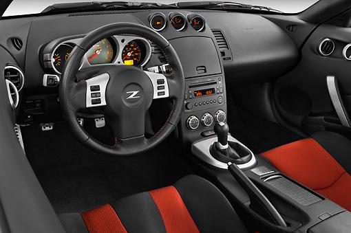 2008 Nissan 350z Nismo Red Interior Detail Studio Kimballstock