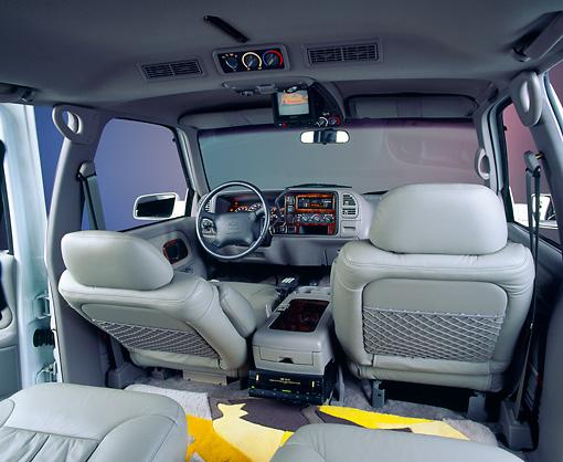 1995 suburban interior