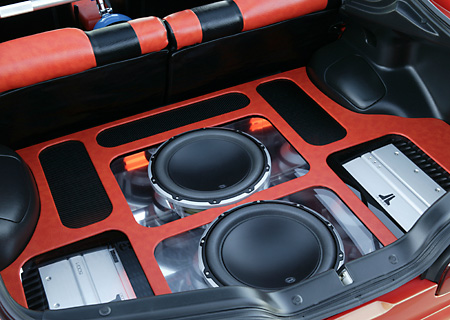 AUT 30 RK1951 01 © Kimball Stock 2001 Acura Integra Custom Detail Sound System