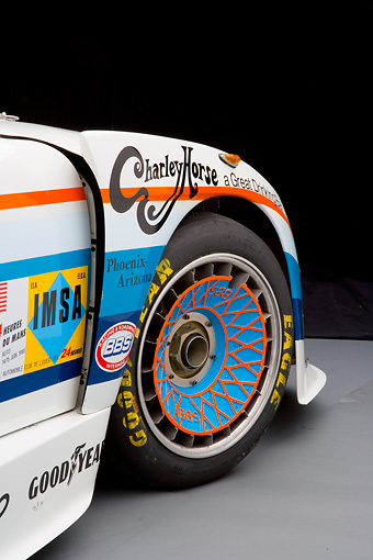 AUT 30 RK3995 01 © Kimball Stock 1980 Porsche 935 K3 Race Car