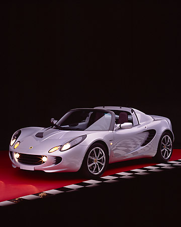 AUT 39 RK0016 06 © Kimball Stock 2004 Lotus Elise Silver