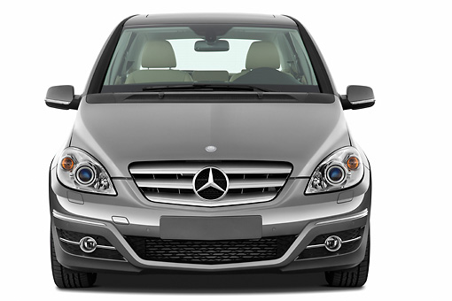AUT 44 IZ0242 01 © Kimball Stock 2011 Mercedes-Benz B Class Front View Studio