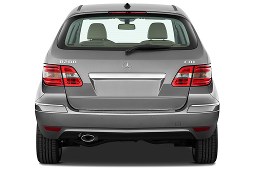 AUT 44 IZ0243 01 © Kimball Stock 2011 Mercedes-Benz B Class Rear View Studio