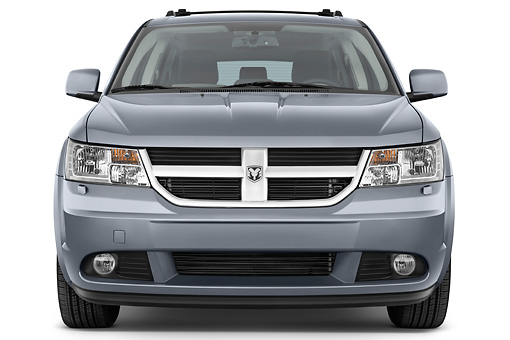 AUT 44 IZ0281 01 © Kimball Stock 2010 Dodge Journey RT Gray Front View Studio