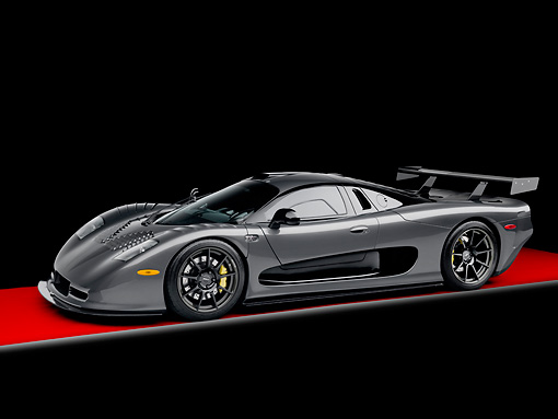 AUT 44 RK0074 01 © Kimball Stock 2009 IAD/Mosler MT900 GTR XX Twin Turbo