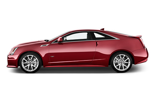 AUT 50 IZ0202 01 © Kimball Stock 2015 Cadillac CTS Coupe V RWD 2-Door Rear View In Studio