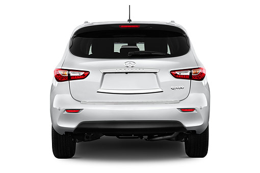 AUT 50 IZ0531 01 © Kimball Stock 2014 Infiniti QX60 3.5 5-Door SUV Rear View In Studio