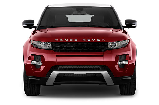 AUT 50 IZ0690 01 © Kimball Stock 2015 Land Rover Range Rover Evoque Pure 5-Door SUV Front View In Studio