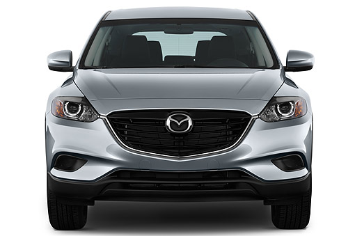 AUT 50 IZ0732 01 © Kimball Stock 2015 Mazda CX-9 Sport FWD 5-Door SUV Rear View