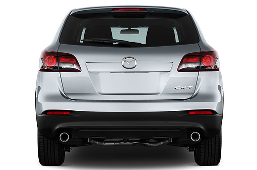 AUT 50 IZ0733 01 © Kimball Stock 2015 Mazda CX-9 Sport FWD 5-Door SUV Rear View