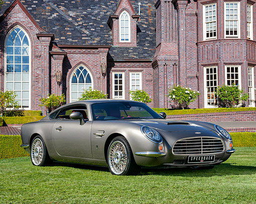 AUT 50 RK0872 01 © Kimball Stock 2014 David Brown Speedback GT 3/4 Front View By Mansion