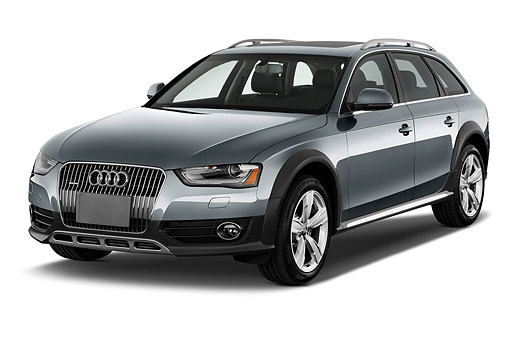 AUT 51 IZ0104 01 © Kimball Stock 2015 Audi Allroad 2.0 TFSI Quattro 8 Speed Tiptronic 4-Door Wagon 3/4 Front View In Studio
