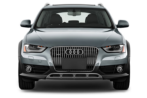 AUT 51 IZ0107 01 © Kimball Stock 2015 Audi Allroad 2.0 TFSI Quattro 8 Speed Tiptronic 4-Door Wagon 3/4 Front View In Studio