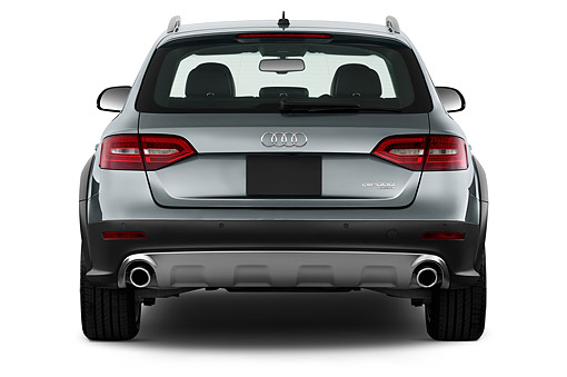AUT 51 IZ0108 01 © Kimball Stock 2015 Audi Allroad 2.0 TFSI Quattro 8 Speed Tiptronic 4-Door Wagon 3/4 Rear View In Studio