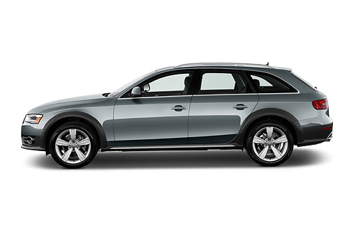 AUT 51 IZ0109 01 © Kimball Stock 2015 Audi Allroad 2.0 TFSI Quattro 8 Speed Tiptronic 4-Door Wagon Profile View In Studio