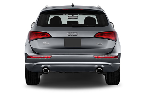 AUT 51 IZ0115 01 © Kimball Stock 2015 Audi Q5 2.0t Quattro Tiptronic Premium 5-Door SUV Rear View In Studio