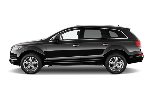 AUT 51 IZ0123 01 © Kimball Stock 2015 Audi Q7 3.0 TDI Quattro Tiptronic Premium 5-Door SUV Profile View In Studio