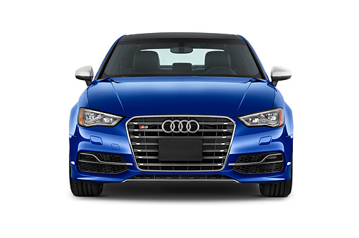 AUT 51 IZ0177 01 © Kimball Stock 2015 Audi S3 Premium Plus 4-Door Sedan Front View In Studio