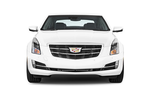 AUT 51 IZ0212 01 © Kimball Stock 2015 Cadillac ATS Coupe 2.0 RWD Premium 2-Door Front View In Studio