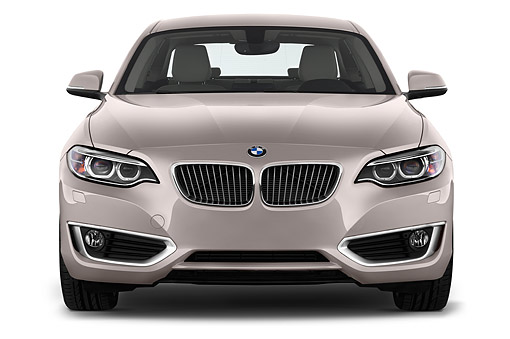 AUT 51 IZ2449 01 © Kimball Stock 2015 BMW 2 Series 228i Coupe 2-Door Front View In Studio