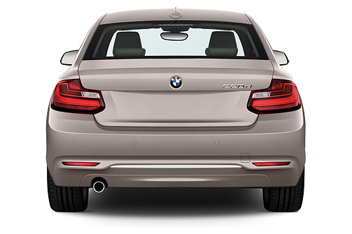 AUT 51 IZ2450 01 © Kimball Stock 2015 BMW 2 Series 228i Coupe 2-Door Front View In Studio