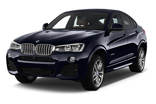 AUT 51 IZ2467 01 © Kimball Stock 2015 BMW X4 XDrive 28i 5-Door SUV 3/4 Front View In Studio