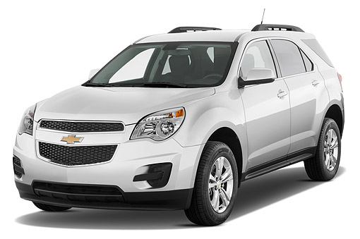AUT 51 IZ2552 01 © Kimball Stock 2015 Chevrolet Equinox 2LT 5-Door SUV 3/4 Front View In Studio