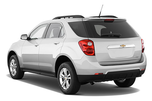 AUT 51 IZ2553 01 © Kimball Stock 2015 Chevrolet Equinox 2LT 5-Door SUV 3/4 Rear View In Studio
