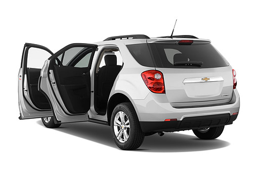 AUT 51 IZ2554 01 © Kimball Stock 2015 Chevrolet Equinox 2LT 5-Door SUV 3/4 Rear View In Studio