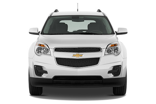 AUT 51 IZ2555 01 © Kimball Stock 2015 Chevrolet Equinox 2LT 5-Door SUV Front View In Studio