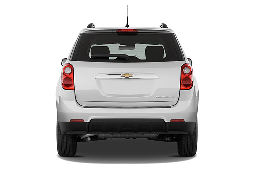 AUT 51 IZ2556 01 © Kimball Stock 2015 Chevrolet Equinox 2LT 5-Door SUV Rear View In Studio