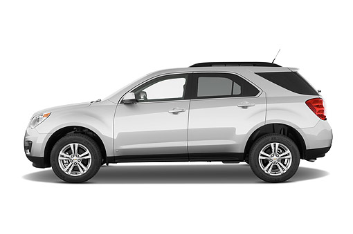 AUT 51 IZ2557 01 © Kimball Stock 2015 Chevrolet Equinox 2LT 5-Door SUV Profile View In Studio