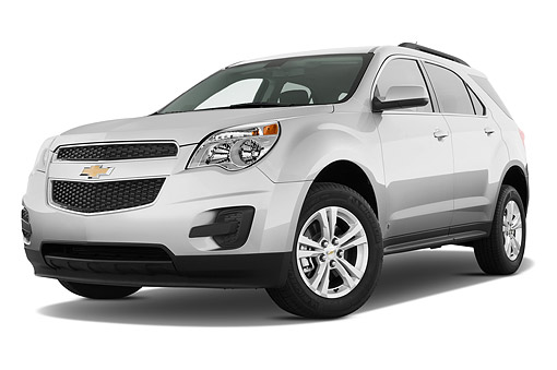 AUT 51 IZ2558 01 © Kimball Stock 2015 Chevrolet Equinox 2LT 5-Door SUV 3/4 Front View In Studio