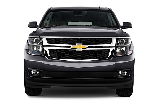 AUT 51 IZ2600 01 © Kimball Stock 2015 Chevrolet Suburban 2WD 1500 LT 5-Door SUV Front View In Studio
