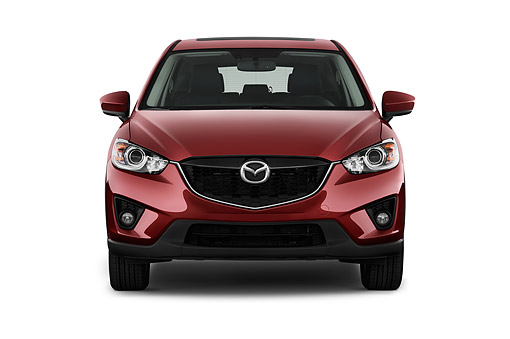 AUT 51 IZ2881 01 © Kimball Stock 2015 Mazda CX-5 Grand Touring Auto 5-Door SUV Front View In Studio