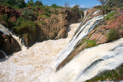 LAN 01 HP0006 01 © Kimball Stock Kunene River And Waterfalls In Kaokoveld, Namibia