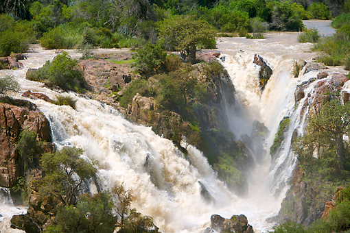 LAN 01 HP0008 01 © Kimball Stock Kunene River And Waterfalls In Kaokoveld, Namibia