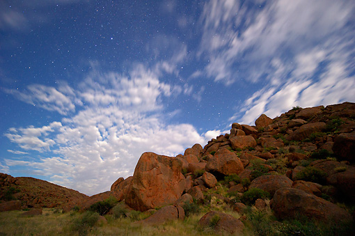 LAN 01 MH0115 01 © Kimball Stock NamibRand Nature Reserve At Dusk In Southwestern Namibia