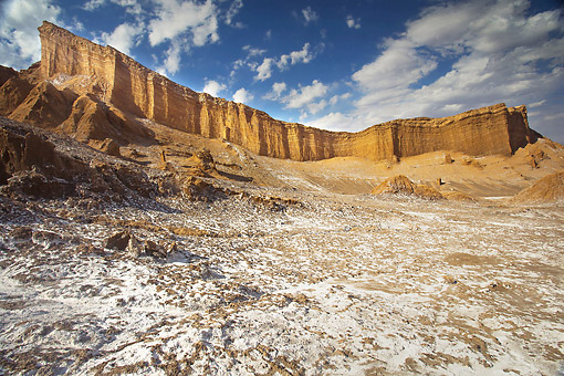 LAN 04 JE0009 01 © Kimball Stock El Valle de la Luna (Valley of the Moon), San Pedro de Atacama, Chile