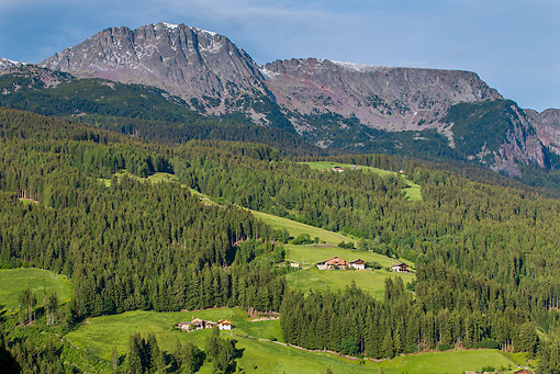 LAN 08 KH0082 01 © Kimball Stock Val Gardena Valley In Dolomites South Tyrol, Italy