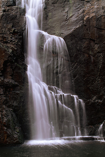 LAN 09 RF0012 01 © Kimball Stock Grampians National Park Waterfalls Australia