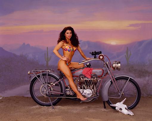 Harley Davidson Swimsuit Model