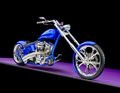 MOT 04 RK0326 01 © Kimball Stock 2010 Jason's Chopper