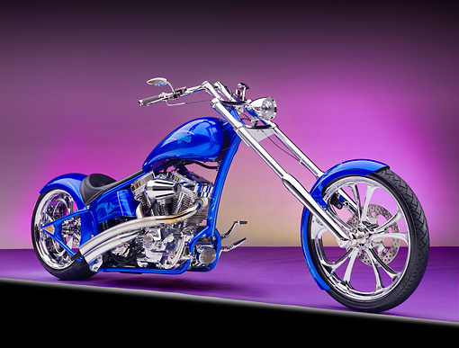 MOT 04 RK0327 01 © Kimball Stock 2010 Jason's Chopper