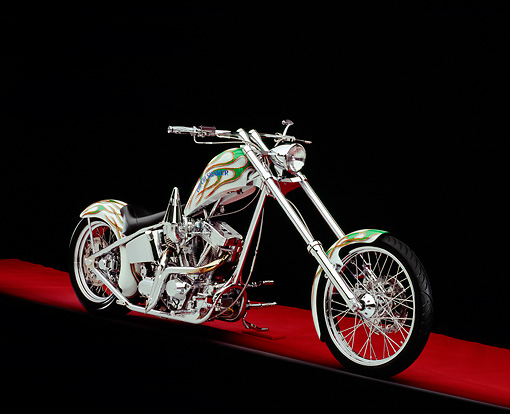 MOT 04 RK0073 07 © Kimball Stock 2004 Binford Custom Cycles