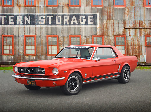 MST 01 RK1538 01 © Kimball Stock 1964 1/2 Ford Mustang